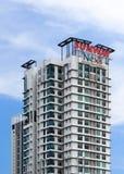 在petaling的jaya的Sunway nexis 免版税库存图片