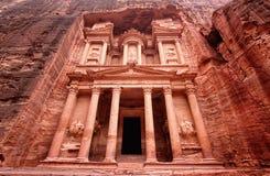 在Petra的财宝 免版税库存图片