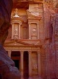 在Petra的金融管理系统 图库摄影