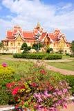 在Pha的寺庙Luang复合体,万象,老挝 库存照片