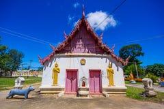 在Phichit泰国的Wat rong张 库存图片