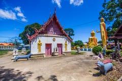 在Phichit泰国的Wat rong张 库存照片