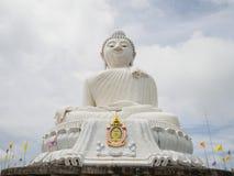 在Phromthep海角普吉岛泰国的大Bodhi树 免版税库存照片