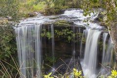 在Phu Kradueng国家公园的Penpob瀑布 库存照片