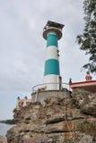 在Phu Quoc海岛的灯塔 免版税库存图片