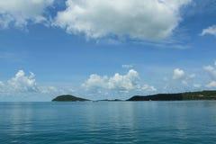在Phu Quoc海岛,越南的美丽的海滩 免版税图库摄影