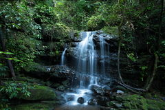 在Phu Soi Dao国家公园的Saithip瀑布 图库摄影