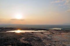 在Pidurungala岩石,斯里兰卡的农村风景 库存照片