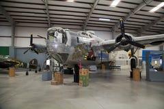在Pima空气和太空博物馆,图森的航空器 免版税库存图片