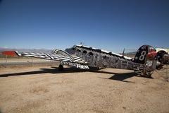 在Pima空气和太空博物馆,图森的航空器 库存照片