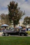 在Pitzer学院的山区乡村摇滚乐车展 库存图片