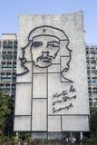 在Plaza de la Revolucion的切・格瓦拉纪念碑 免版税图库摄影