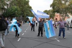 布宜诺斯艾利斯Celebrations教皇 免版税库存照片