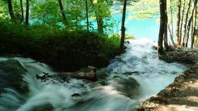 在Plitvice的瀑布 免版税库存图片