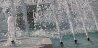 在poo的喷泉涌出的苏打水 库存照片