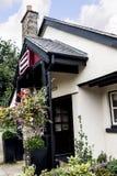 在Pott附近Shrigley,彻斯特,英国小村庄的餐馆  免版税库存图片