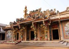 在prachinburi省的中国寺庙 库存图片