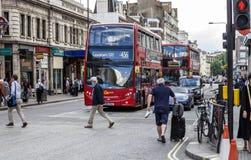 在Praed街伦敦上的帕丁顿驻地 库存照片
