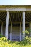 在Prora,鲁根岛海岛的法西斯主义的建筑学 图库摄影