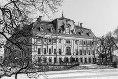 在Pszczyna的城堡 免版税库存图片