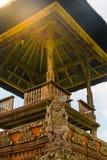 在Pura塔曼Ayun的巴厘语塔 免版税库存图片