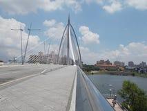 在Putra Jaya的桥梁 库存照片