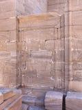 在Qasr Dusch的废墟 库存图片