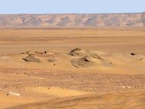 在Qasr Dusch附近 免版税库存图片