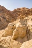 在Qumran陷下,找到死海纸卷 图库摄影