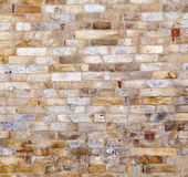 在Qutub Minar墙壁的石头  库存照片