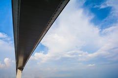 在Rama IX桥梁下,曼谷 库存照片