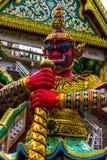 在Rang小山寺庙,普吉岛,泰国的雕象 库存图片
