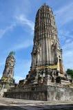 在Ratchaburi泰国的Aranyikawas寺庙 免版税库存图片