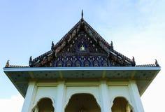 在rayong城市的泰国寺庙。 库存照片