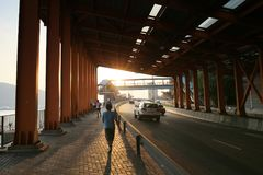 在Rd荃湾的Hoi在香港 图库摄影