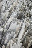 在Reynisdrangar,冰岛的Vulcanic岩石 库存照片