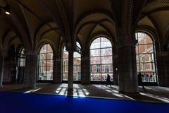 在Rijksmuseum,阿姆斯特丹 免版税图库摄影