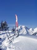 在Ronberg的冬天 库存图片