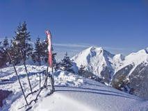在Ronberg的冬天 库存照片