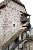 在roncolo附近的bolzano castel意大利 免版税库存照片