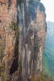 在Roraima Tepui, Gran Sabana,委内瑞拉的瀑布 免版税图库摄影