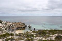 在Rottnest海岛的孑然 库存照片