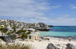 在Rottnest海岛的暑假 免版税图库摄影