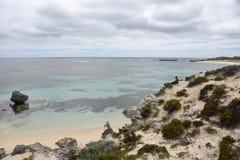 在Rottnest海岛的海洋凝思 免版税库存图片