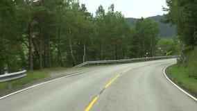 在Rv64的驱动,Moere og Romsdal,挪威 股票录像