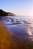 在Sagres的美丽的海滩 免版税库存照片