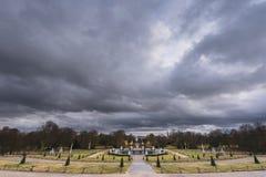 在Sanssouci宫殿公园  库存图片
