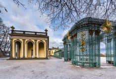 在Sanssouci宫殿公园  免版税库存图片