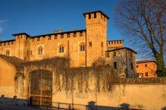 在Sant `安吉洛Lodigiani的Bolognini城堡 免版税库存照片