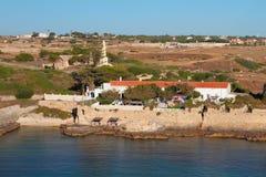 在Sant Felip堡垒疆土  马翁,梅诺卡岛,西班牙 库存图片
